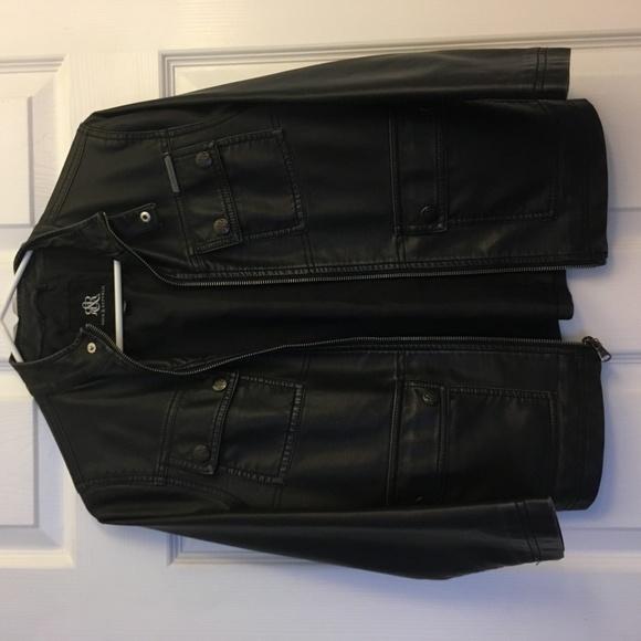 Rock & Republic Jackets & Blazers - Women Real Leather Jacket